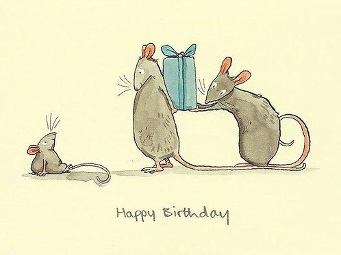 Karte - Happy Birthday