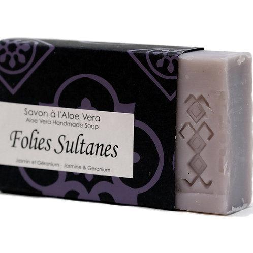 "Aloe Vera-Seife ""Follies Sultanes"""