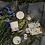 Thumbnail: Sojawachs Duftkerze WILD FLOWERS (Rosenduft) 15h