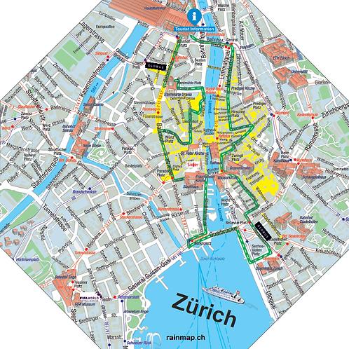Stadtschirm rainmap® - Zürich