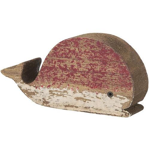 Walfisch rot (H 5,5 cm)