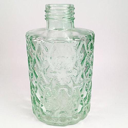 Vase mit Rauten hellgrün (H10,6)