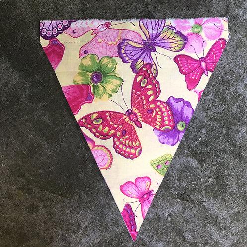 Wimpel Schmetterlinge