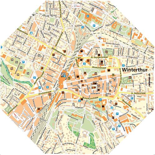 Stadtschirm rainmap® - Winterthur
