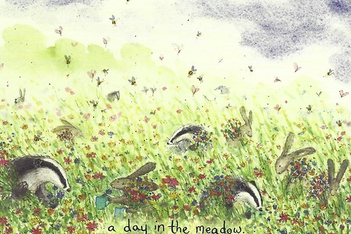 Karte - A day in the meadow