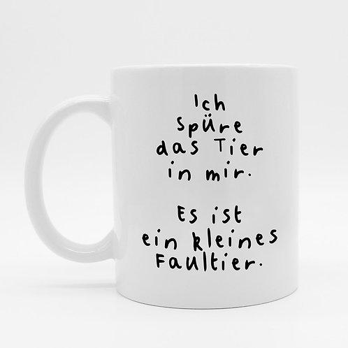 Tasse - Faultier