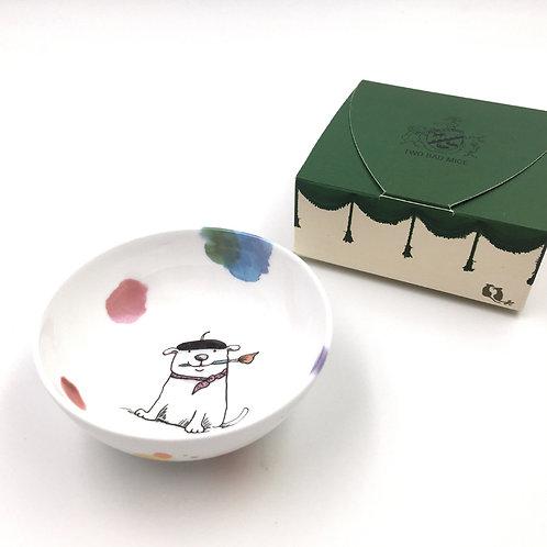 Porzellanschale klein - Art Club Hund