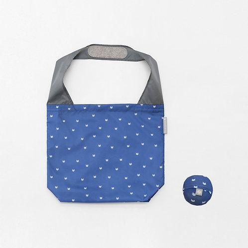 Flip & Tumble Tasche Katzen blau