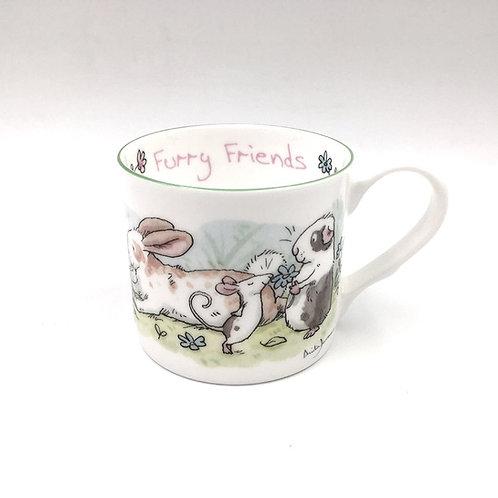 Porzellantasse 200ml Furry Friends