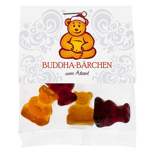 Buddha-Bärchen Mini 19gr - zum Advent