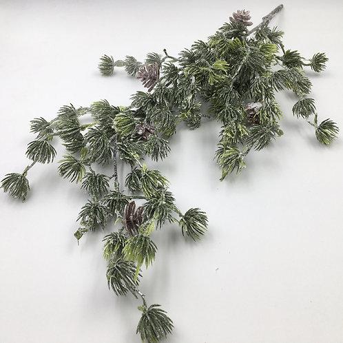 Zedernzweig mit Zapfen 54 cm