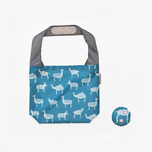 Flip & Tumble Tasche Tiere petrol