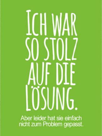 Postkarte Lösung