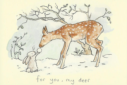 Karte - *For you, my deer*