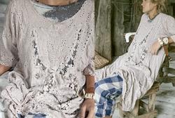 Coronado Dress (Antique White)