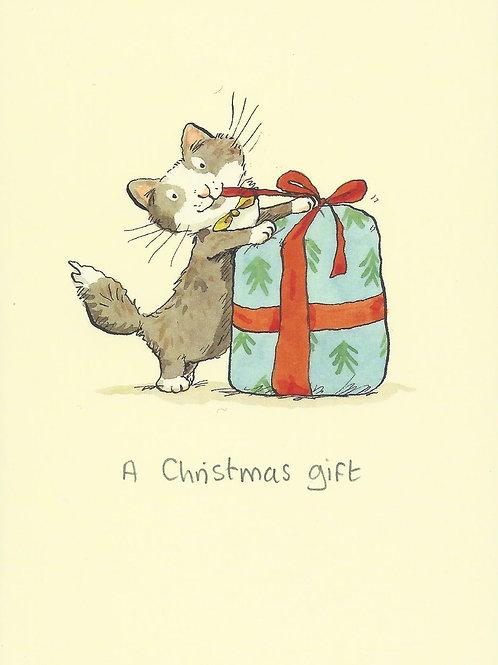 Karte - *A Christmas gift*