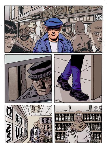 Alex Automatic 2 (art by James Corcoran)