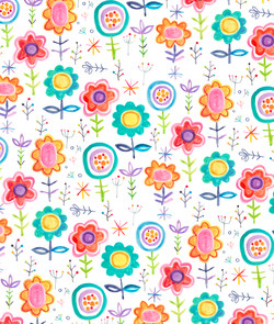 Floral bright