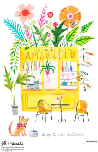 Cafe amarillo