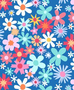 Girls pop floral