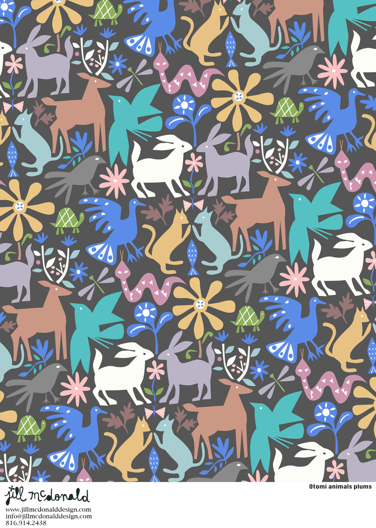 Otomi animals plums