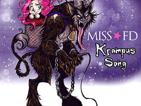 "Miss FD Releases Her New Holiday Tune ""Krampus Song"""