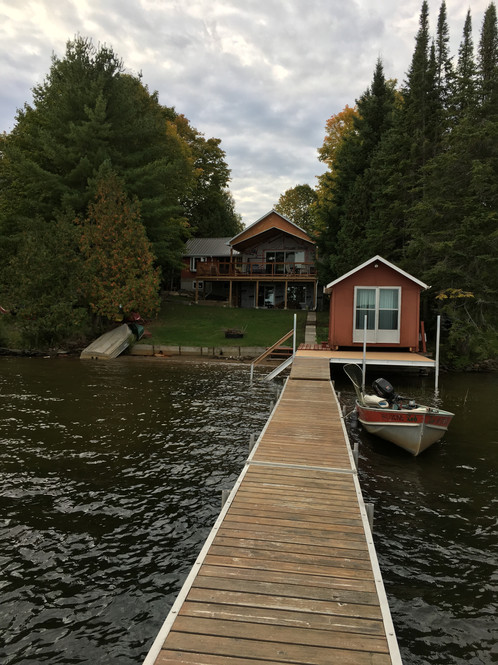 Cottage from the dock