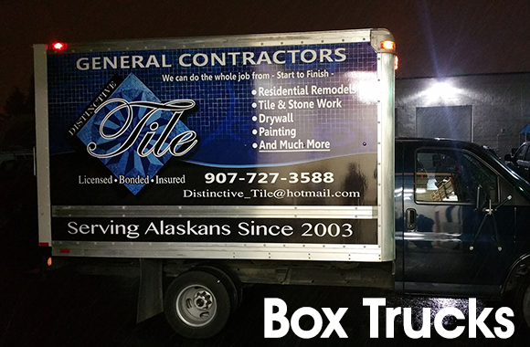 Distinctive Tile Truck Side