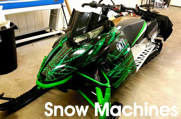 Snow Machine Wrap