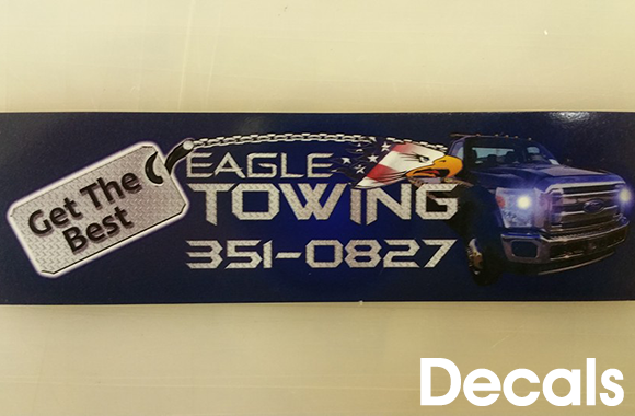 Eagle Towing Bumper Sticker