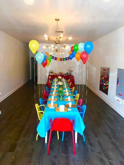 Art Theme Studio Party