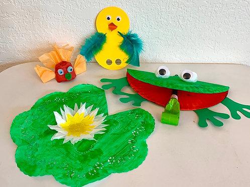 Froggy & Friends Craft Kit