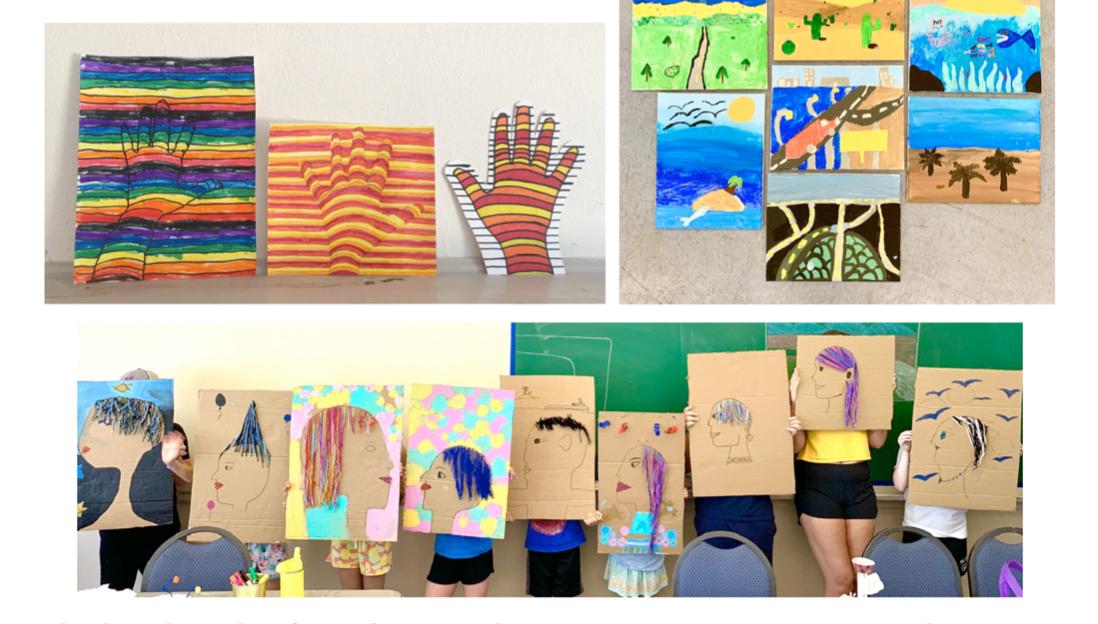 Mixed Media Art Class (Ages 6-10)