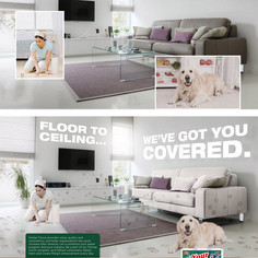 Global Tissue Group - magazine ad design/composite