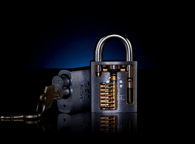L0ckcr4ck3r cutaway lock product photo
