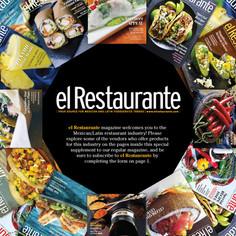El Restaurante magazine - cover design