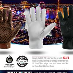 Trade show advertisement - Illinois Glove Company