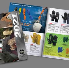 Honest Abe Gloves - 2021 Catalog Photography, layout and design