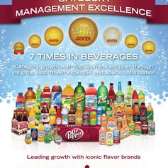 Dr. Pepper/Snapple Group magazine ad design