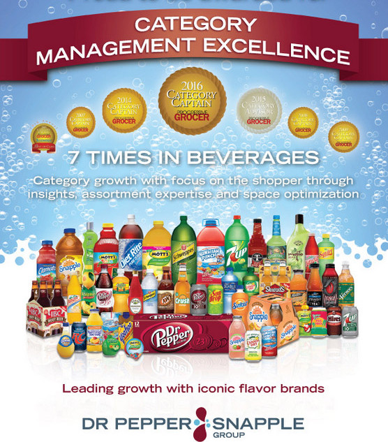 Dr. Pepper/Snapple Group magazine ad design