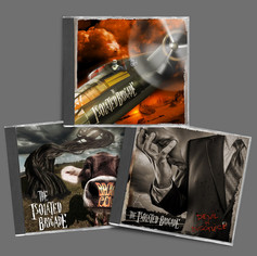 The Isolated Brigade - Album and single cover photography/illustration/design