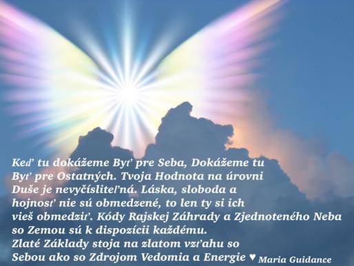 Zlaté Základy Hojnosti Sú O tvojej Vlastnej Hodnote, Jediné Obmedzenie je to, ktoré si Vytvorím