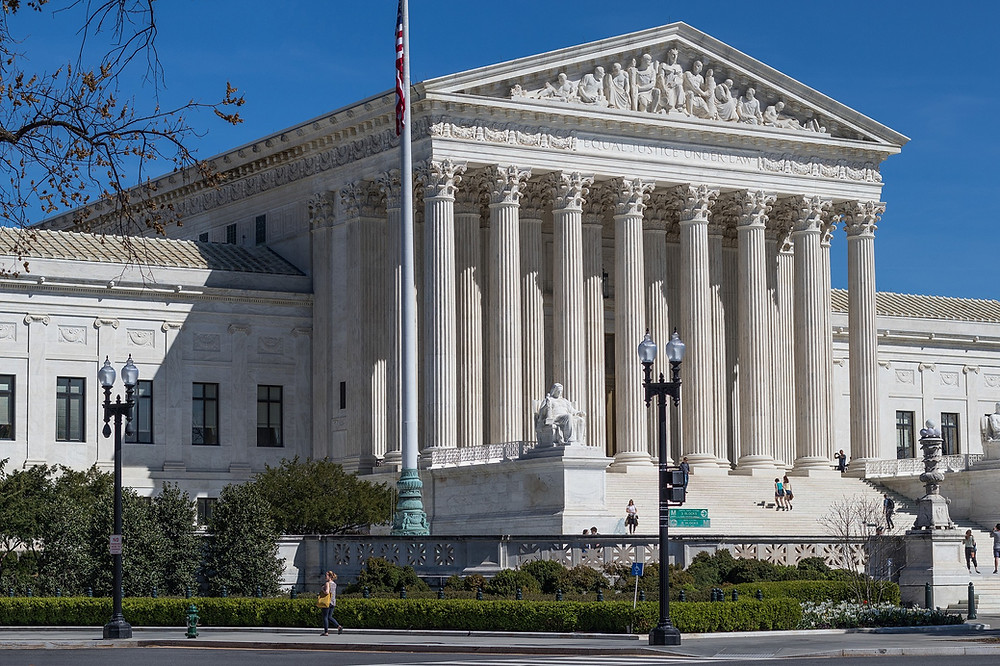 I didn't work at the Supreme Court building.