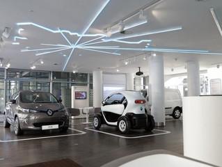 Nowy Concept Store samochodów elektrycznych w Berlinie