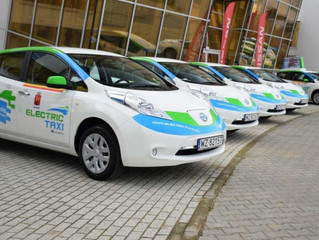 Pora na elektryczne taksówki