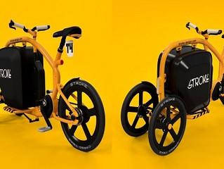 Funkcjonalny elektryczny rower cargo z Japonii