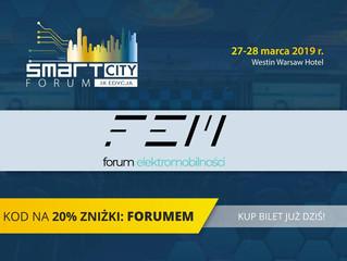 IX Edycja Smart City Forum z Forum Elektromobilności