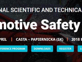 Automotive Safety 2018 Conference