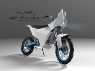 Polscy studenci znów zaskakują - Lekki Elektryczny Motocykl Dakarowy