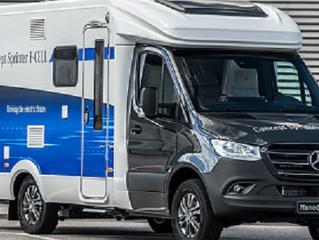 Duży Van od Mercedesa napędzany wodorem